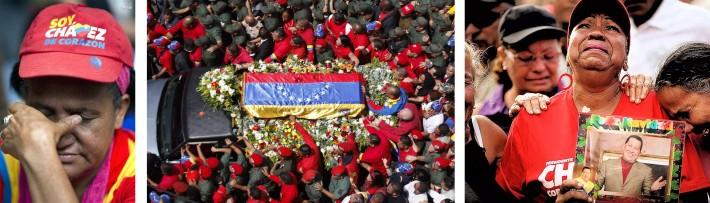 TRASLADO DEL F…RETRO DE CH¡VEZ A LA ACADEMIA MILITAR EN CARACAS